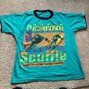 Vintage 80s 90s Hockey Street Scuffle
